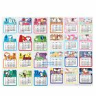 JAPAN MADE SNOOPY HELLO KITTY 2017 CALENDAR STICKERS