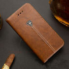 Luxury Business PU Leather Card Wallet Soft Gel Case Flip Cover For Cell Phones