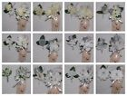 25th Silver Anniversary 2PCS Corsage Boutonniere Set Many Styles Silver Rose
