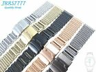 20MM STAINLESS STEEL SHARK MESH BRACELET Watch Ø1.2mm multicolored new wristband
