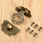 Decorative Europe Vintage Style Jewelry Box Latch Hasp Case Cabinet Lock Clasp