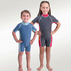 UV Careful Kids Sun Suit Protective Child Swim Wear with Flame Graphic