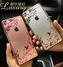 Luxury Clear Crystal Diamond Silicone Soft Case Cover for iPhone 6 6s 7 7Plus