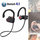Wireless Bluetooth Headset Stereo Headphone Sport Earphone for iPhone Samsung LG
