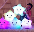 New Colorful Led Light Glowing Star Pillow soft Stuffed Toys Plush for children