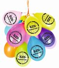 Eid Decorations REUSABLE Balloons Banners Party Cups Plates Cards Mubarak Flags <br/> We use Premium Reusable Card NOT Paper Like others!