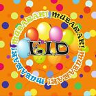 Eid Decorations REUSABLE Balloons Banners Party Cups Plates Cards Mubarak Flags