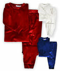 Girls Velour Loungewear Set New Kids Christmas Velvet Jumper Joggers Tracksuit