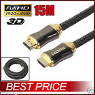 10M Braided HD HDMI Cable V2.0 High Speed + Ethernet HDTV 2160P Support 4K 3D