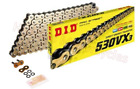 Suzuki GSX600F 1998 to 2006 Models DID Gold X-Ring Drive Chain