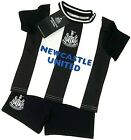 NEWCASTLE UNITED FC 18 BABIES T SHIRT SHORTS SET KIT BABY SHORT SLEEVE PRAM SUIT