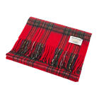 Heritage of Scotland Lambswool Collection Scottish Tartan Wide Scarf