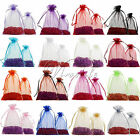 2 Sizes Organza Bags Wedding Candy Jewellery Pouch Gift Packing Xmas Party Decor