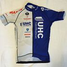 New Vermarc UHC Pro Cycling Men's Team Issue SS Racing Jersey, White/Blue