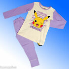 Girls Authentic Official Pokemon Pyjamas Age 4 - 10 Years