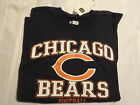 NFL Team Apparel Chicago Bears Navy Mens L or XL Short Sleeved Shirt NWT