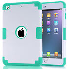 Kids Silicone PC Hybrid Shockproof AntiScratch Case Cover For IPad Mini123/mini4