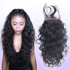 Brazilian loose wave lace frontal closure 4x4 100% remy haiR Us Stock