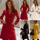 Fashion Women Ladies Warm Long Jacket Winter Coat Trench Parka Overcoat Outwear