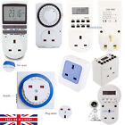 Timer WIFI Socket Digital LCD 12/24 Hour 7 Day Mains Plug-in Programmable Switch