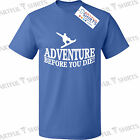 Adventure Snowboarding T Shirt Slogan Brand New tee Gifts funny presents Ski