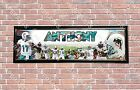 Personalized Customized Miami Dolphins Name Wall Poster Sport Banner with Frame $35.0 USD on eBay