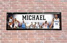 Personalized Customized Oklahoma City OKC Thunder Name Poster Banner with Frame on eBay