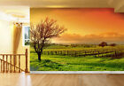 3D Vineyard Scenery Wall Paper Wall Print Decal Wall Deco Indoor wall Mural Home