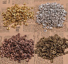 100/1000Pcs Tibetan Silver Spacer beads Flowers Beads Caps Findings 6MM B3081
