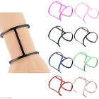 Fashion Women Geometric Exaggerated Thick Hollow Bracelet Jewelry Ladies Gift