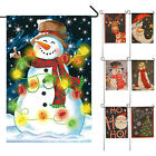 2017 New Year Christmas Party Garden Flag Indoor Outdoor Home Decoration Flag JR