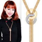 New Fashion Women Chain Choker Chunky Statement Bib Necklace Pendant Jewelry JR