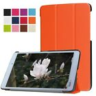 "Multicolor Sleep/Wake Ultra Slim Leather Case For Kyocera Qua tab PX 8"" Tablet"