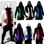 New Creed Hoodie Men's Cosplay For Assassins Jacket Coat Anime Role play Costume