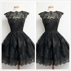 Women Sleeveless Lace Casual Evening Party Cocktail Short Mini Dress Prom Pretty