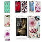 Slim Shockproof Fashion Soft Embrossed Rubber Silicon Luxury Case Cover For Asus