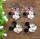Lot Disney Mickey and Minnie Charms Metal Pendants jewelry Making Gifts 20/50Pcs