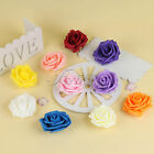Artificial 7cm Foam Roses Flower Heads For Wedding Party DIY Froral Crafts Decor