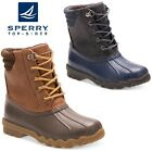 Boys SPERRY Duck Wellington Boots Festival Rubber Muckers Yard Wellies Kids 12-6