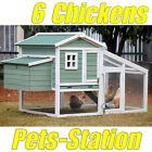 X-LARGE Chicken Coop w/nesting box, Rabbit Hutch Guinea Pig Cage Ferret House