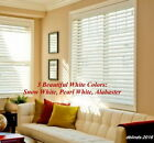 "2"" FAUXWOOD WINDOW BLINDS ~SIZE~ 33"" WIDTH x 24"" to 36"" LENGTH ~ WHITE COLORS"