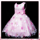 Christening Communion Christmas Party Flower Girls Dresses SIZE 2-3-4-5-6-7-8-9Y