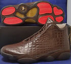 Nike Air Jordan Horizon Premium Croc Baroque Brown Gold SZ 8.5,9.5,12, 14 BNIB