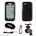 Waterproof Bike Bicycle Phone Case Mount Holder Cradle Cover For iPhone 6s Plus