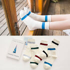 New Autumn Winter Leisure Socks Cotton Single Bar Socks Women Ladies Long Socks