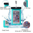 Underwater Waterproof Case Bag Dry Pouch For Mobile Phone Samsung iPhone 7 Plus
