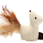 1x Kitten Play Length Interactive Toy Cat Teaser Wand Pet Mouse Ball Feather JR