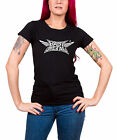 Babymetal T Shirt Crush band logo new Official Womens Skinny Fit Black