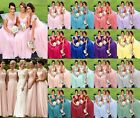 New Lace Chiffon Bridesmaid Formal Ball Gown Cocktail Evening Party Prom Dresses