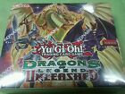 Yugioh yu gi oh Dragons of Legends Unleashed booster box konami 24 packs sealed